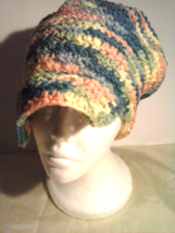 my multi color cozy hat - $12.95