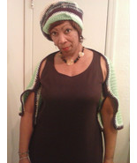 shrug and hat set super soft and ready to wear - $27.50