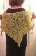 Crochet Green Apple Ladies Shawl - €27,31 EUR