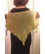 Crochet Green Apple Ladies Shawl - $29.95