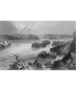 CANADA Falls on St. John's River - BARTLETT Ant... - $11.09