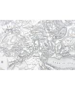 1848 Fine Quality Map - SWITZERLAND Zurich & En... - $20.20