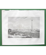 EGYPT City of Alexandria Africa - 1830 Antique ... - $6.73