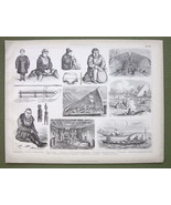 ETHNOGRAPHY Russia Siberia Greenland Natives - ... - $12.61
