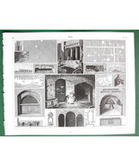 SYRACUSE Jerusalem Naples Rock Tombs Catacombs ... - $18.51