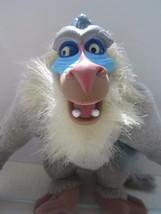 "Lion King RAFIKI 8"" Plush Baboon Monkey Disney 1994 Mattel Plastic Face - $6.46"