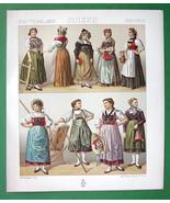 SWITZERLAND Women's Fashion Uri Valais Zurich -... - $18.51