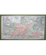 GERMANY Potsdam & Environs - 1904 MAP ORIGINAL ... - $5.94