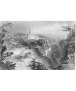 CANADA Village of Lorette - 1841 BARTLETT Antiq... - $12.61