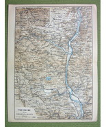 GERMANY Rhine River between Koblenz & Bonn- 188... - $7.91