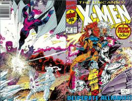 The Uncanny X-Men #281 Newsstand Cover (1981-2011) Marvel - $8.59