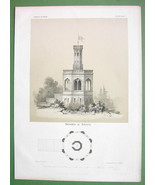 ARCHITECTURE PRINT : Germany Belvedere at Holst... - $20.20