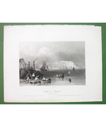 CANADA Citadel of Kingston - 1841 Engraving Pri... - $8.41