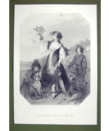 FALCONER LADY Costume England Dog Hounds - SUPE... - $28.61
