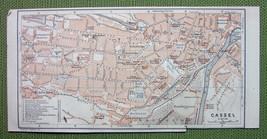 GERMANY Kassel Cassel CIty Plan & Environs - 19... - $4.74