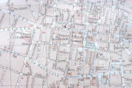 1906 MAP ORIGINAL Baedeker - BOLOGNA Italy City... - $7.91
