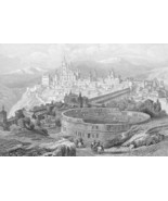 SPAIN Madrid Segovia Burgos Toledo Escurial - 1... - $46.28