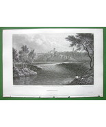 GERMANY Trendelburg - CPT BATTY Antique Print E... - $10.51