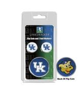 Kentucky Wildcats Flip Coin and 2 Golf Ball Marker Pack - $14.25
