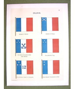 FLAGS FRANCE Admiral Commander Naval Marine - 1... - $12.20