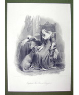 ENGLAND Young Lady Costume Dog Baron's Daughter... - $20.20