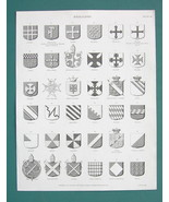 HERALDRY Shields Zurich London Prince of Monaco... - $12.20