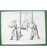CHINA Street Punishements !! Antique Print 2 - $21.00