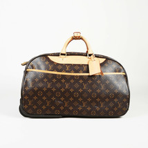 "Louis Vuitton Monogram Coated Canvas ""Eole 50"" Suitcase - $1,735.00"