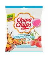 Chupa Chups SUGAR FREE lollipops -10pc -Made in Spain FREE SHIPPING - $8.90