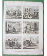 ARMS of Romans Standards Siege Engines - 1822 O... - $21.00