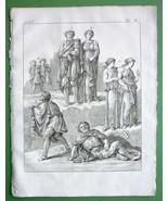 KING REGULUS & Family in Captivity - 1774 Antiq... - $11.78