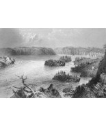 CANADA Falls on St. John River - BARTLETT Engra... - $11.78