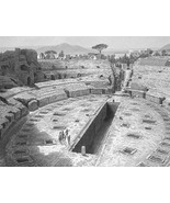 ITALY Roman Amphitheatre at Pozzuoli Remains - ... - $17.42