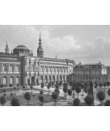 GERMANY Dresden Art Gallery - 1860 SCARCE Engra... - $46.28
