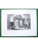 CONSTANTINOPLE FOuntain in Galata - BARTLETT An... - $18.51