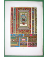 RACINET Ornaments from Hours of Aragon Manuscri... - $16.79