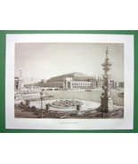 1892 CHICAGO EXPOSITION Liberal Arts Building - 1893 Victorian Era Antiq... - $18.51