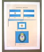 FLAGS Argentina President's Standard Jack Ensig... - $20.20