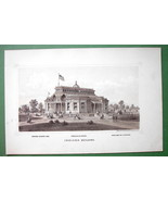 INDIANA Budiling at PHILADELPHIA EXPOSITION of ... - $8.83