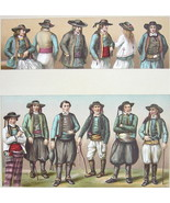 COSTUME of Peasants Brittany France - SUPERB Co... - $28.61