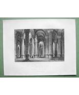 CONSTANTINOPLE Cistern of Bin-Bir-Derek - ca 18... - $15.15