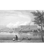 SWEDEN Norway Stockholm Bergen Dannemora - 1860 SCARCE Print Multiple Views - $46.28