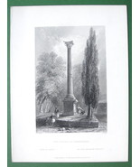 CONSTANTINOPLE Column of Theodosius Turkey - ca... - $11.78