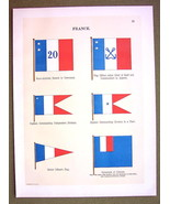 FLAGS FRANCE Colonies Governor Captain Naval Ma... - $12.20
