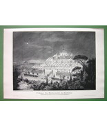 TEMPLE OF HEPHASTION in Babylon - Victorian Era... - $25.24