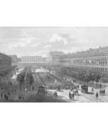 FRANCE Paris Rouen Strassbourg Avignon - 1860 SCARCE Print Multiple Views - $46.28