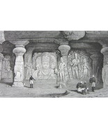 INDIA Rock Temple Karli Elephanta Bedjapur Bomb... - $47.52