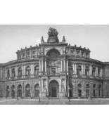 GERMANY Dresden Theatre by Architect Semper - 1... - $46.28