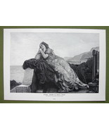 PENELOPE Wife of Odysseus Pensive Sad - VICTORI... - $20.20