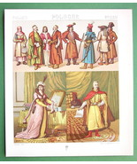 POLAND Costume of Ladies Great Soldier - 1888 C... - $18.51